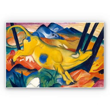 Wandbild Marc - Die gelbe Kuh