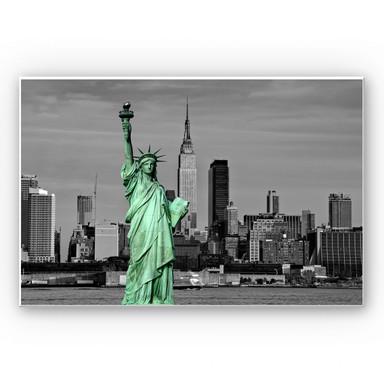 Wandbild Statue of Liberty