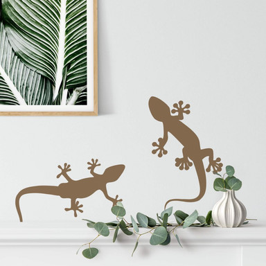 Wandtattoo Gecko 2