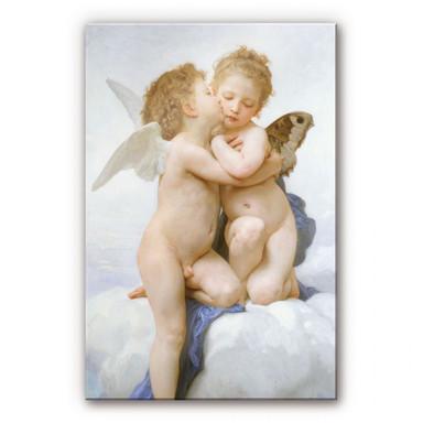 Acrylglasbild Bouguereau - Der erste Kuss