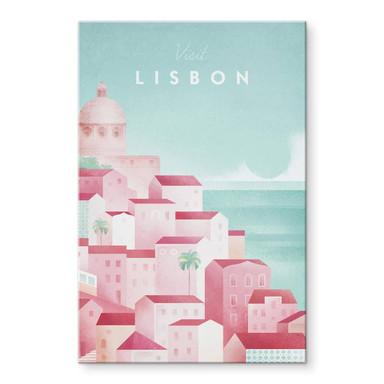 Acrylglasbild Rivers - Lissabon