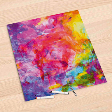 Folienbogen (60x60cm) - Abstract Watercolor