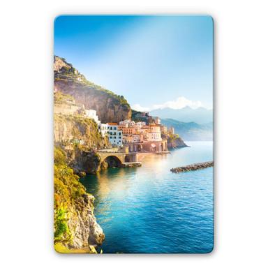 Glasbild Campania in Italien