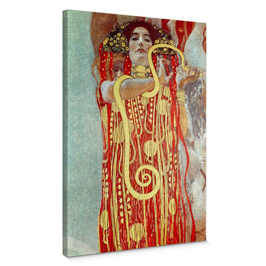 Leinwandbild Klimt - Hygieia