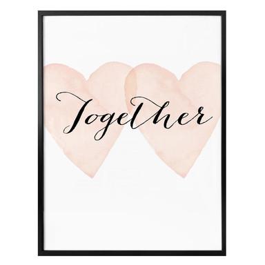 Poster Confetti & Cream - Together
