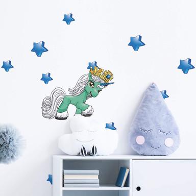 Wandsticker Filly Unicorn Dreams Squeak