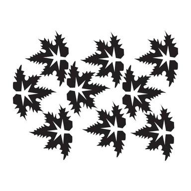Wandtattoo Blätter-Set 18