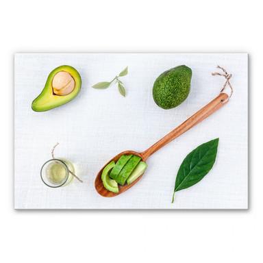 Acrylglasbild Frische Avocado
