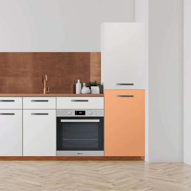 Klebefolie - Hochschrank (60x100cm) - Orange Light- Bild 1