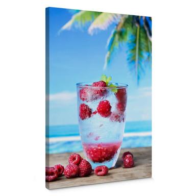 Leinwandbild Tropical Raspberry