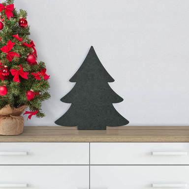 MDF-Holzdeko Tannenbaum