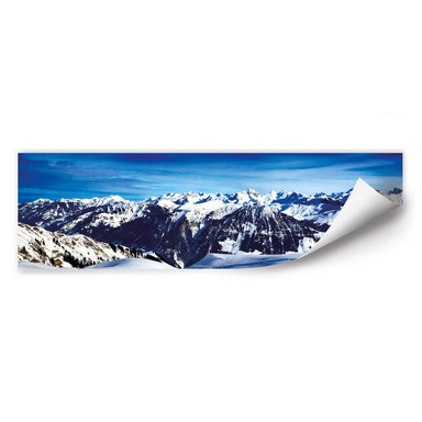 Wallprint Alpenpanorama