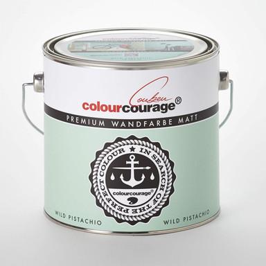 colourcourage® Premium Wandfarbe matt Wild Pistachio
