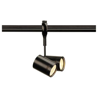 Easytec II Leuchtenspot Bima, GU10. 2-flammig, schwarz