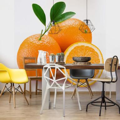Fototapete Oranges - 240x260cm - Bild 1