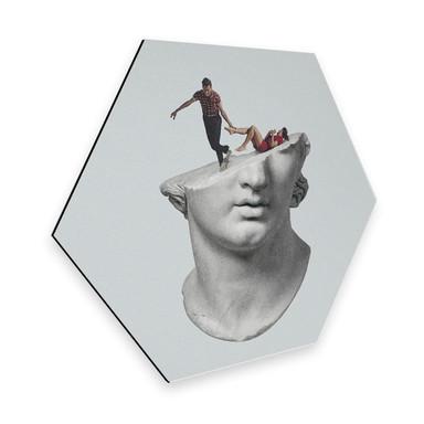 Hexagon - Alu-Dibond Léon - Get out of my head