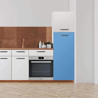 Klebefolie - Hochschrank (60x140cm) - Blau Light- Bild 1