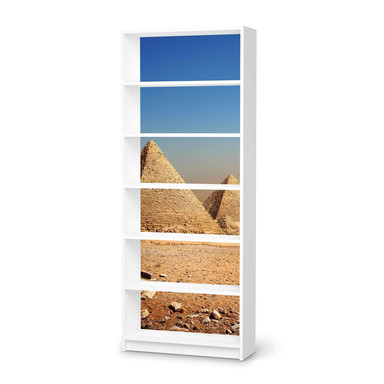 Klebefolie IKEA Billy Regal 6 Fächer - Pyramids- Bild 1