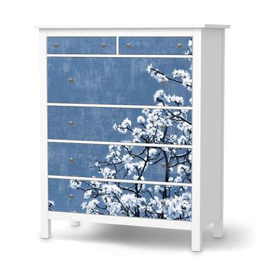 Klebefolie IKEA Hemnes Kommode 6 Schubladen - Spring Tree- Bild 1