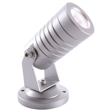 LED Strahler Mini II in Silber 2W 6000K IP65