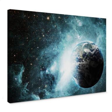 Leinwandbild In einer fernen Galaxie