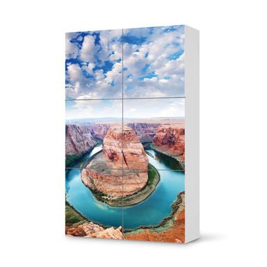 Möbel Klebefolie IKEA Besta Schrank 6 Türen (hoch) - Grand Canyon- Bild 1