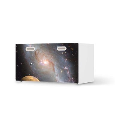 Möbelfolie IKEA Stuva / Fritids Bank mit Kasten - Milky Way