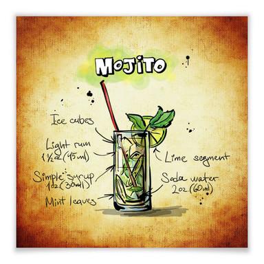 Poster Mojito - Rezept