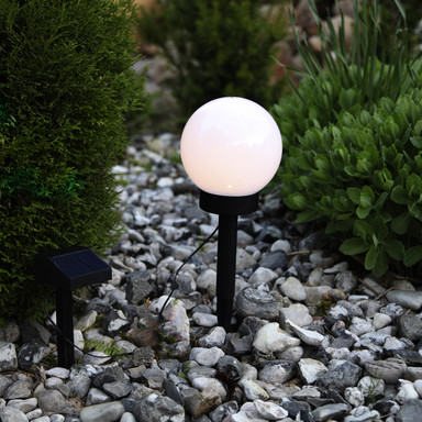 Solar- Gartenkugel Globus, mit Sensor und LED, Ø 150 mm