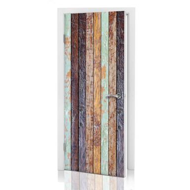 Türdesign - Vintage Holzwand