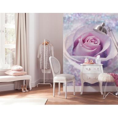 Vliestapete Delicate Rose - Bild 1