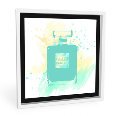 Wandbild Eau de Parfum Aquarell - Mint
