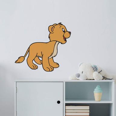 Wandsticker Benjamin Blümchen Löwe Hipp