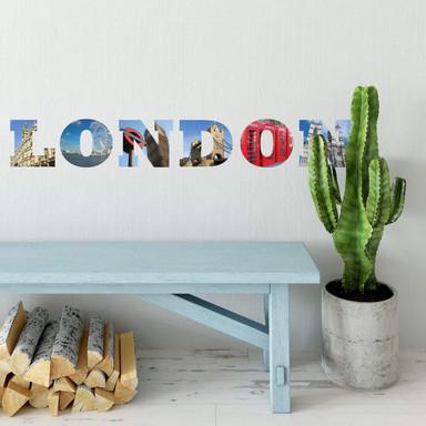 Wandsticker Impressionen London