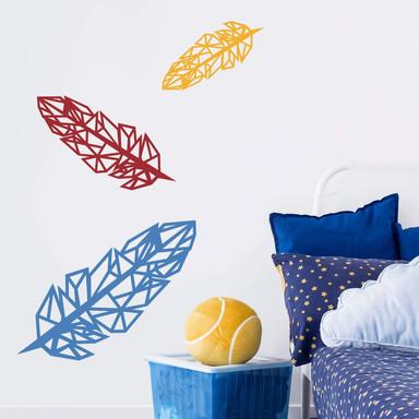 Wandtattoo Origami Feder