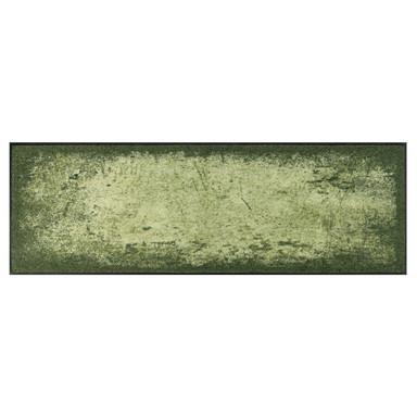 Wash&Dry Interieur Fussmatte Shades of Green   Rechteckig   60x180cm - Bild 1