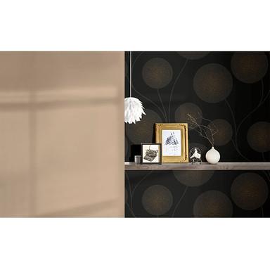 A.S. Création Vliestapete mit Glitter Spot 3 metallic, schwarz