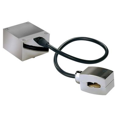Einspeiser für Easytec II in chrom, Kabellänge: 400 mm - Bild 1