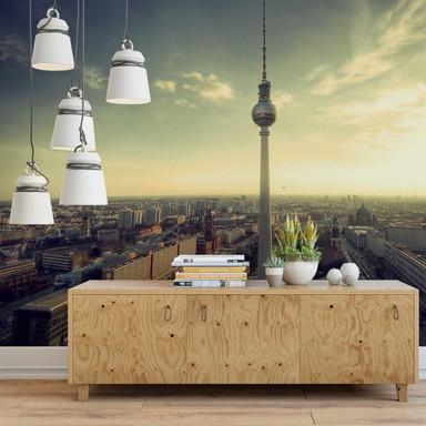 Fototapete Berliner Fernsehturm Panorama