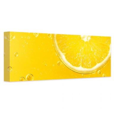 Leinwandbild Lemon Squeezy - Panorama