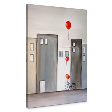Leinwandbild Melz - Der Ballonverkäufer