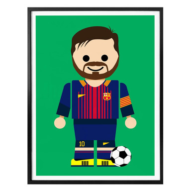 Poster Gomes - Messi Spielzeug