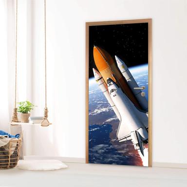 Türfolie - Space Traveller