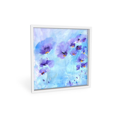 Wandbild Niksic - Rhapsody Blue - quadratisch