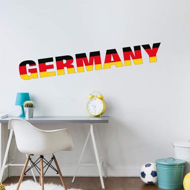 Wandsticker Germany Schriftzug