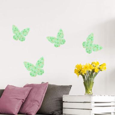 Wandsticker Schmetterling 02 (Muster)