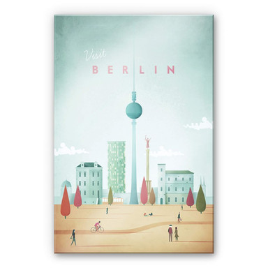 Acrylglasbild Rivers - Berlin