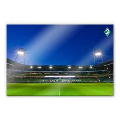 Acrylglasbild Werder Bremen Weserstadion Tribüne