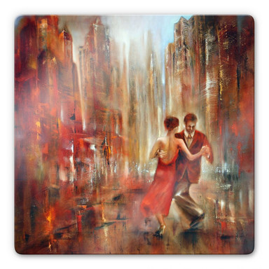 Glasbild Schmucker - Tango