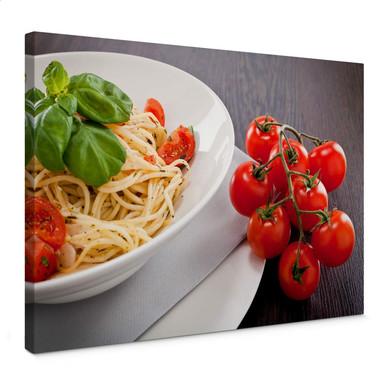 Leinwandbild Pasta Italiano